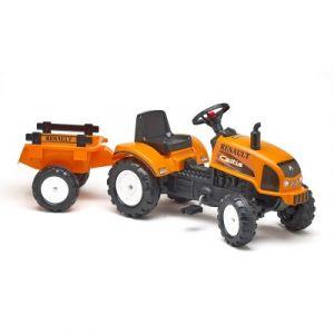 Falk / Falquet Tracteur à pédales Renault Celtis 436RX et remorque
