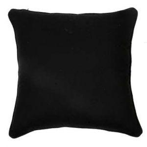 Coussin SARA coloris noir