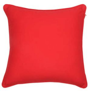 Coussin SARA coloris rouge