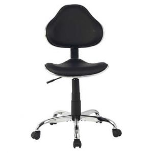 Chaise dactylo HANNA 2 coloris noir