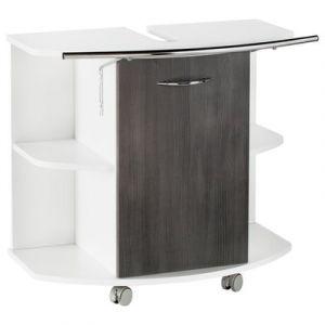 meuble de salle de bain sur roulettes comparer 57 offres. Black Bedroom Furniture Sets. Home Design Ideas