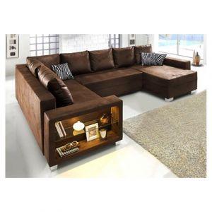 canape cuir vieilli convertible comparer 33 offres. Black Bedroom Furniture Sets. Home Design Ideas