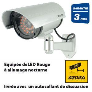 SEDEA Caméra de surveillance factice - Neuf