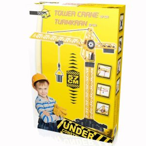Jeu Grue Rotative De Chantier Enfant - 57 Cm - Engin De Chantier - Neuf