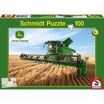 Schmidt Spiele - 56144 - Puzzle Classique - Moissonneuse Batteuse S690 - 100 Pièces ( Neuf )