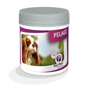 Sogeval - Pet-Phos Canin Special pelage 50 cps ( Neuf )
