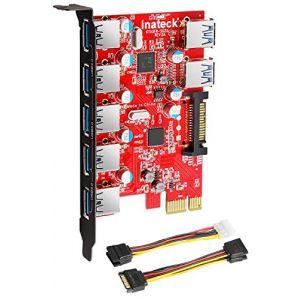 Carte controleur pci express 2 ports usb 3 0 comparer 32 - Carte controleur pci express 4 ports usb 3 0 ...