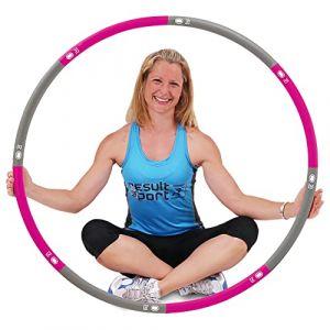 ResultSport® Cerceau/Hula Hoop niveau 1 avec revêtement en mousse 1,2kg (2,65lbs) Ø 100 cm ( Neuf )