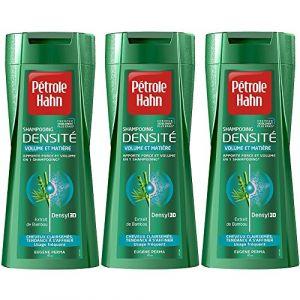 Pétrole Hahn Shampooing Densité pour Cheveux Clairsemés 250 ml - Lot de 3 ( Neuf )