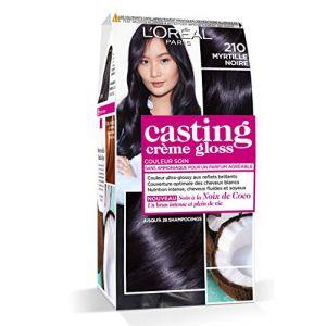 L'Oréal Paris Casting Crème Gloss Coloration Ton Sur Ton Sans Ammoniaque 2.10 Myrtille Noire Lot de 2 ( Neuf )