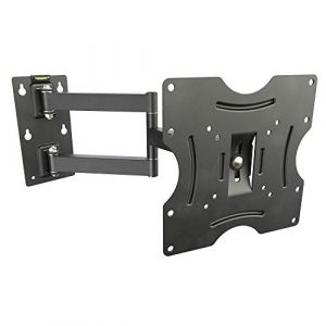 RICOO Support ecran plat Meuble TV mural Support TV Mural R02 (N) bras articulé TV Support Mural Orientable Inclinable TV LED fixation murale TV Support VESA 200x200 max. support universel televiseur ( Neuf Marketplace )