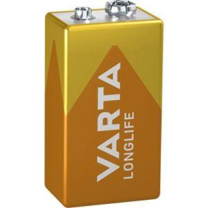 Varta Longlife Piles Alcalines 9V 6LR61 ( Neuf )