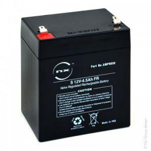 NX - Batterie plomb AGM S 12V-4.5Ah FR 12V 4.5Ah T1 - Unité(s) ( Neuf Marketplace )