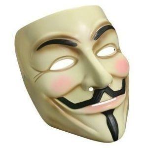 """Lot de 3 Masques de Guy Fawkes """"V pour Vendetta"""" ( Neuf Marketplace )"""