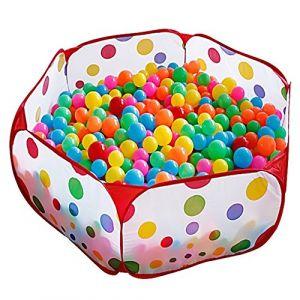 Kuuqa 100CM Enfants Playpen Jouer Tente Boule Pit Piscine avec Red sac de rangement à glissière pour les tout-petits, les animaux de compagnie (Balles non comprises) ( Neuf Marketplace )