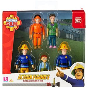 Sam le pompier - figurines, pack de 5 ( Neuf Marketplace )