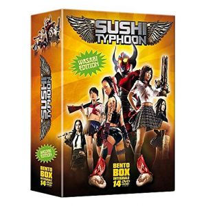 Coffret sushi typhoon - bento box - DVD ( Neuf )