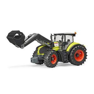 Bruder - 03013 - Tracteur Claas Axion 950 Avec Fourche - Vert ( Neuf )