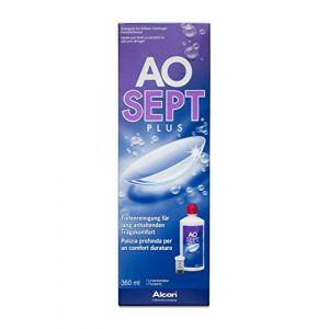 AOSEPT® PLUS Solution d'entretien pour lentilles - 360 ml ( Neuf )