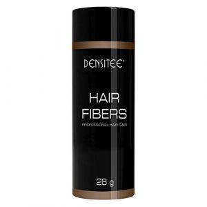 SOLUTION ANTI CALVITIE !! DENSITEE 28G de poudre à cheveux, poudre densifiante innovante, poudre volumatrice - effet visible immédiat - grâce aux microfibres de kératine naturelle, retrouvez une nouvelle densité capillaire instantanément - Convient aux ho