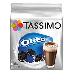 Sachet Tassimo Oreo Cacao, Chocolat Chaud, Boisson Chocolatée Parfum Biscuits, 16 T-Discs (8 Portions) ( Neuf Marketplace )
