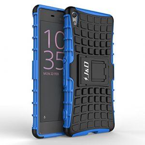 Coque Sony Xperia XA, J&D [Béquille] [Couche Double] Coque de Protection Antichoc Hybride pour Sony Xperia XA – Bleu ( Neuf Marketplace )