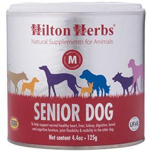 Hilton Herbs Complément Alimentaire pour Chien Âgé Boîte de 125 g ( Neuf )
