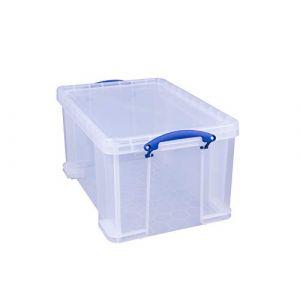 Really Useful Box Boîte à fiche en polypropylène 48 L Transparent ( Neuf )