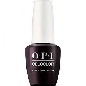 OPI GelColor Vernis à Ongles UV Black Cherry Chutney 15 ml ( Neuf )