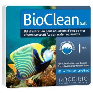 PRODIBIO Bioclean Set de 6 Ampoules pour Aquariophilie ( Neuf )