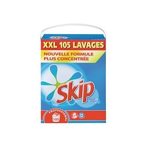 Lessive poudre Skip Effervescent - Baril 105 lavages