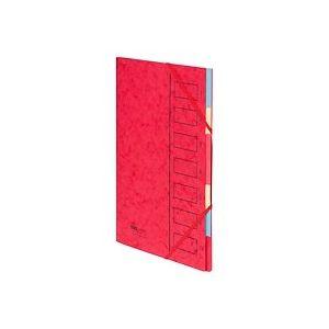 Trieur carte Extendos Eco 7 divisions rouge