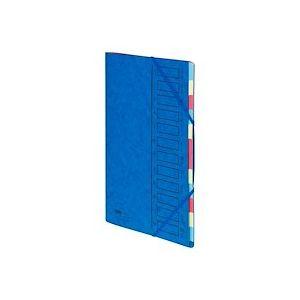 Trieur carte Emey Eco 12 divisions bleu