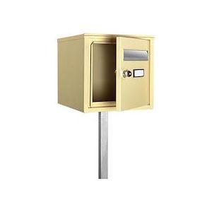 Boîte à lettres beige