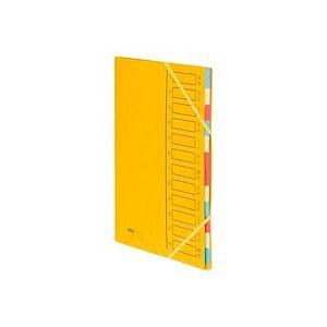Trieur carte Emey Eco 12 divisions jaune