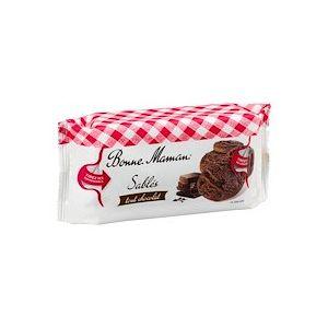 Gâteaux Sablés tout chocolat Bonne Maman - Sachet de 150 g - Lot de 2