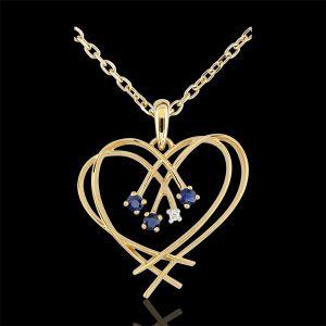collier pendentif coeur pour 3 comparer 136 offres. Black Bedroom Furniture Sets. Home Design Ideas