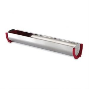 Gouttière à bûche inox 50 cm