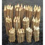 Set dix crayons couleur Bois de tamarin 13 cm