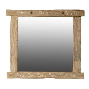 Miroir bois flotte comparer 39 offres for Achat miroir bois flotte
