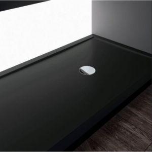 Receveur de douche rectangulaire Olympic Plus Noir h4.5x140x70 - NOVELLINI