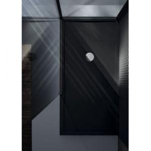 Receveur de douche rectangulaire Olympic Plus Noir h12.5x140x70 - NOVELLINI