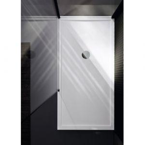 Receveur de douche rectangulaire Olympic Plus Blanc h12.5x120x80  - NOVELLINI