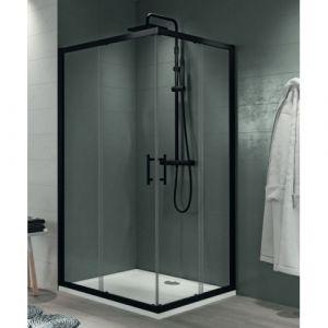 paroi de douche d 39 angle 100x100 comparer 78 offres. Black Bedroom Furniture Sets. Home Design Ideas