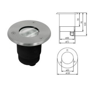 Spot led etanche piscine comparer 41 offres for Piscine encastrable