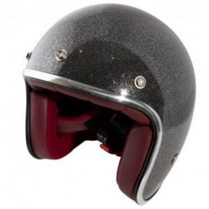 Casque Jet Wyatt Glitter Anthracite