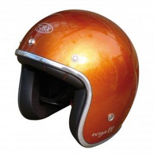 Casque Jet Wyatt Glitter Orange