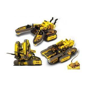 KIT ROBOTS TELEGUIDES TRANSFORMABLES  3 EN 1  - 21-536N