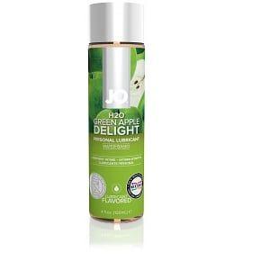Lubrifiant Parfumé JO H2O Flavored 120 ml Translucide Pomme System JO