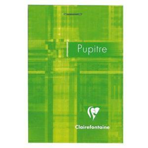 6556C - Bloc Metric Pupitre format 75x105, 80 feuilles 90 g/m² agrafées, ligné 7mm